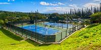 Kapalua tennis Garden, Maui, Hawaii