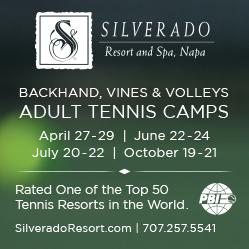 Silverado Resort Tennis Camps, Napa, California