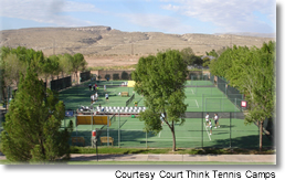 Court Think Tennis at Green Valley Spa