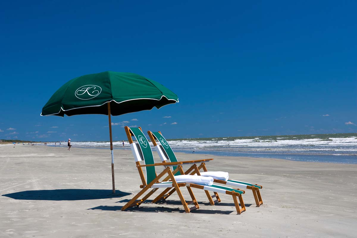 The beach at Kiawah Island
