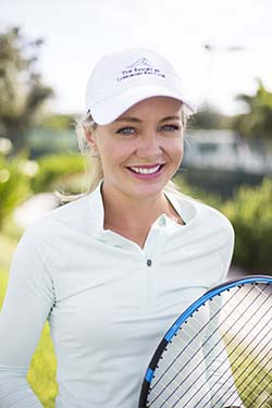 Amy Larson, Tennis Gardens at the Resort at Longboat Key Club
