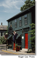 Historic house on Spring Street, Newport, Rhode Island
