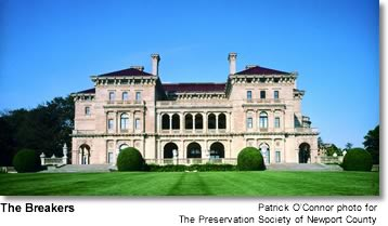 The Breakers, Newport, Rhode Island: Patrick O'Connor photo for The Preservation Society of Newport County