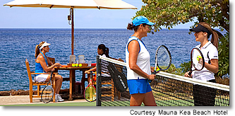 Seaside Tennis Garden at Mauna Kea Beach Hotel