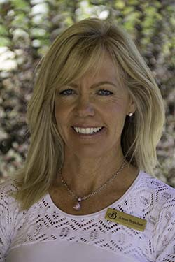 Karen Brandner, Tennis Director, The Broadmoor, Colorado Springs, Colorado. Photo by Roger Cox
