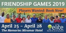 Friendship Games in Havana with Elite Tennis Travel