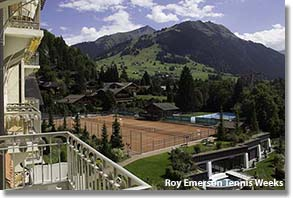 Roy Emerson Tennis Weeks at the Palace Hotel, Gstaad, Switzerland