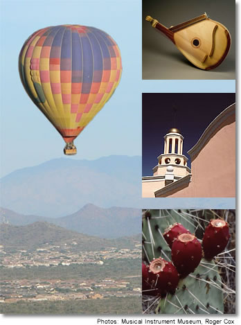 Phoenix, Arizona: Hot-Air Expeditions, Museum of Musical Instruments, Desert Botanical Garden, Fairmont Scottsdale Princess