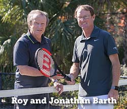 Roy and Jonathan Barth, Kiawah Island Golf Resort, South Carolina