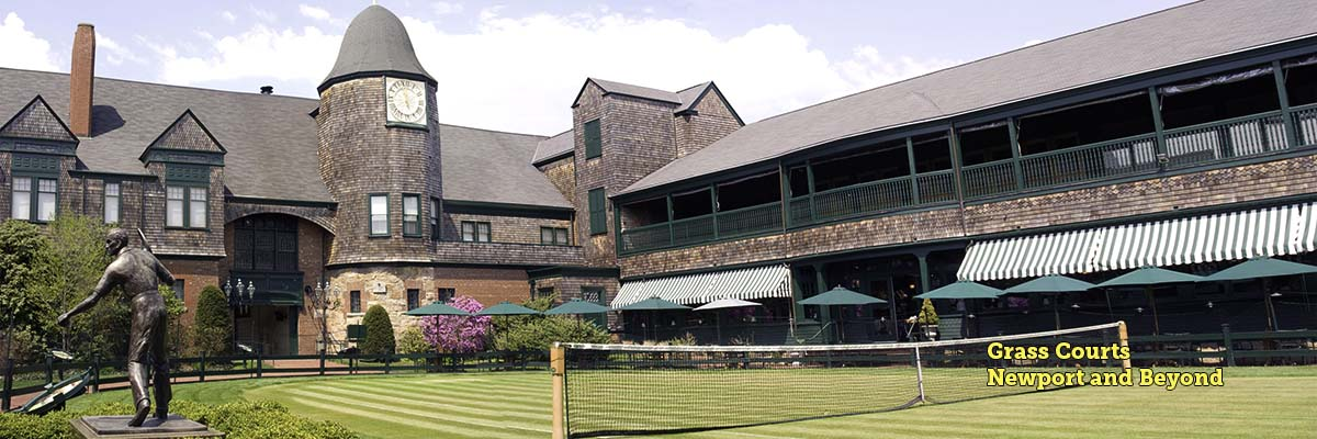 Newport Casino, International Tennis Hall of Fame, Neweport, RI