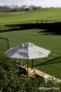 Grass court at Four Seasons Resort Costa Rica at Papagayo Peninsula