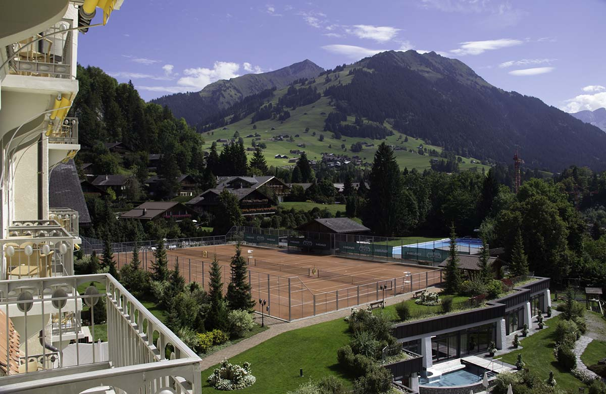 Roy Emerson Tennis Weeks/Gstaad Palace, Switzerland