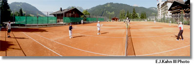 Roy Emerson Tennis Weeks, Gstaad, Switzerland