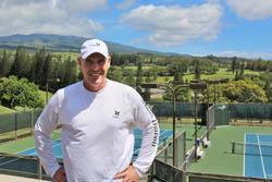 Jason Purcell, Kapalua Tennis Garden, Kapalua, Maui, Hawaii