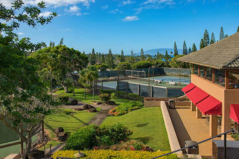 Kapalua Tennis Garden, Maui, Hawaii