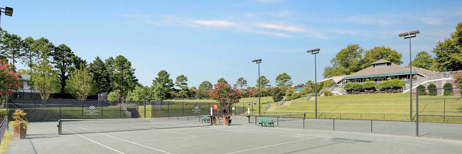 Kingsmill Resort tennis