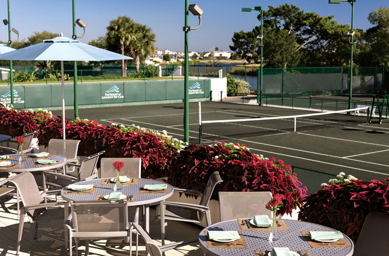 Tennis Gardens at the Resort at Longboat Key Club