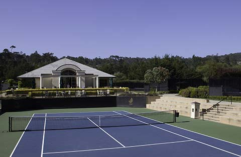 The Lodge at Pebble Beach Tennis Center, Pebble Beach, California