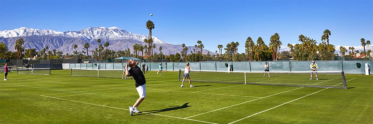 Reed Anderson Tennis School, Mission Hills Country Club, California