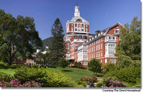 The Omni Homestead, Hot Springs, Virginia