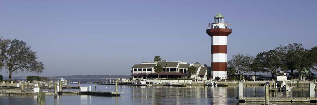 Harbour Town at Sea Pines Resort, Hilton Head island, South Carolina
