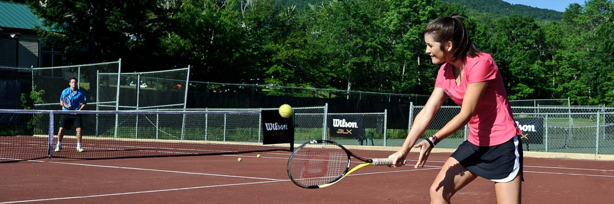 Cliff Drysdale Tennis at Stratton Mountain Resort