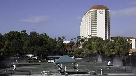 Tennis Resorts Online Naples Grande Beach Resort