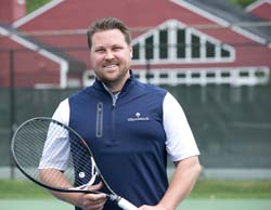Andrew Porter, Tennis Director, Woodstock Inn, Woodstock, VT
