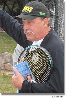 John Newcombe at Tennis Fantasies 2012 in Texas