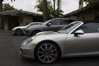 Porsches at Rancho Valencia