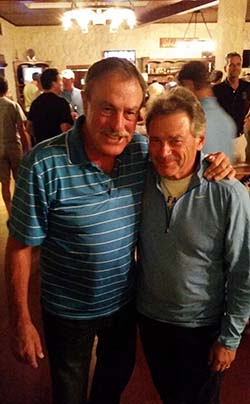 Photo of John Newcombe and Terry Kahn