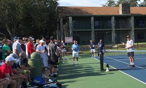 Tennis Legend John Newcombe at Tennis Fantasies Week
