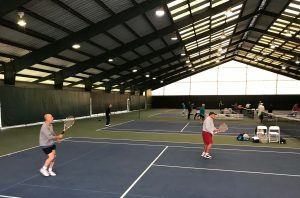 John Newcombe Tennis Ranch indoor courts
